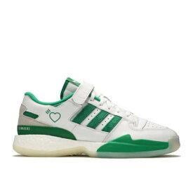 アディダス ADIDAS アディダス フォーラム 白色 ホワイト 緑 グリーン 'GREEN' スニーカー メンズ 【 GREEN ADIDAS HUMAN MADE X FORUM LOW CLOUD WHITE OFF 】