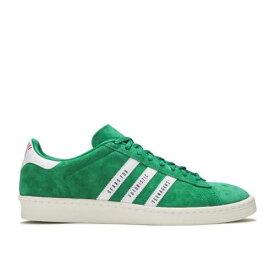 アディダス ADIDAS アディダス キャンパス 緑 グリーン 白色 ホワイト 'GREEN' スニーカー メンズ 【 GREEN ADIDAS HUMAN MADE X CAMPUS FOOTWEAR WHITE OFF 】