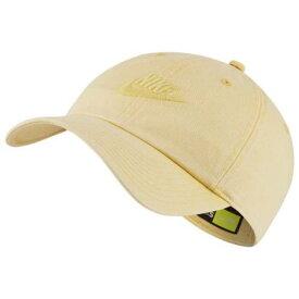 ナイキ NIKE キャップ キャップ 帽子 金色 ゴールド 黄色 イエロー '86 【 YELLOW NIKE HERITAGE CAP TOPAZ GOLD 】 バッグ キャップ 帽子 レディースキャップ 帽子
