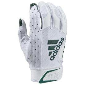 アディダス ADIDAS アディゼロ レシーバー グローブ 手袋 白色 ホワイト フォレスト 緑 グリーン 9.0 【 GREEN ADIDAS ADIZERO RECEIVER GLOVES WHITE FOREST 】 スポーツ アウトドア アメリカンフットボー
