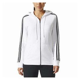【あす楽商品】アディダス アディダスアスレチックス adidas athletics 3stripes cotton fullzip hoodie フーディー パーカー レディース