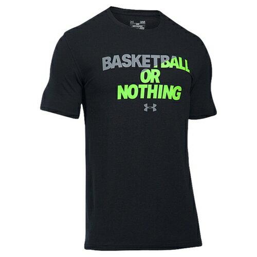アンダーアーマー バスケットボール シャツ メンズ under armour basketball or nothing t トップス カットソー メンズファッション tシャツ