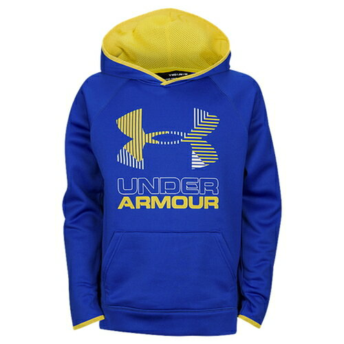 under armour fleece big logo hoodie アンダーアーマー フリース ロゴ フーディー パーカー 男の子用 (小学生 中学生) 子供用 キッズ トップス ベビー マタニティ
