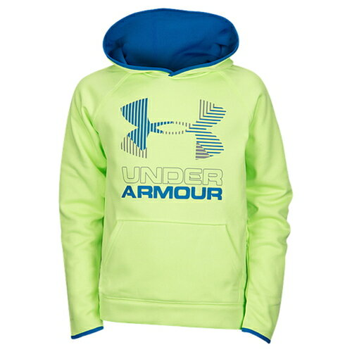 【海外限定】under armour アンダーアーマー fleece フリース big logo ロゴ hoodie フーディー パーカー 男の子用 (小学生 中学生) 子供用