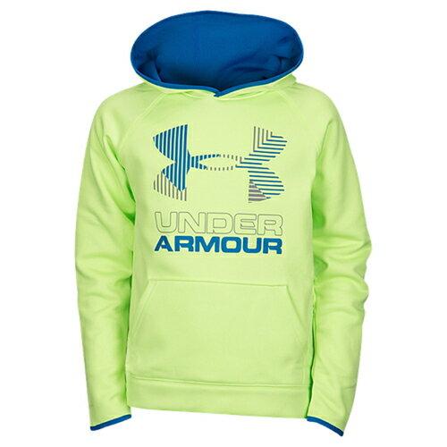 under armour fleece big logo hoodie アンダーアーマー フリース ロゴ フーディー パーカー 男の子用 (小学生 中学生) 子供用 ベビー キッズ トップス マタニティ