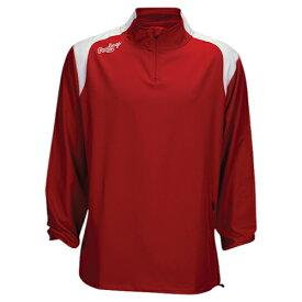 【海外限定】ローリングス スリーブ ジャケット メンズ rawlings force long sleeve quarter zip jacket