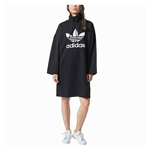 アディダス アディダスオリジナルス adidas originals pharrell high neck loose dress オリジナルス ハイ ドレス レディース ワンピース レディースファッション