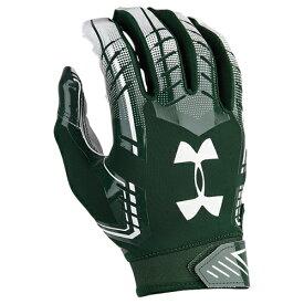 【海外限定】アンダーアーマー フットボール men's メンズ under armour f6 football gloves mens