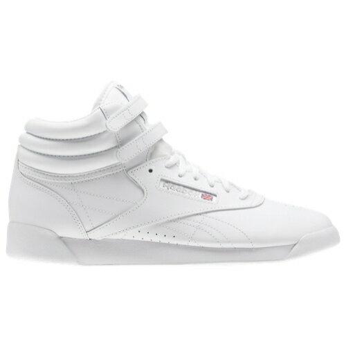 【海外限定】reebok freestyle hi gsgradeschool リーボック フリースタイル gs(gradeschool) ジュニア キッズ レディース靴