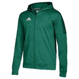 【海外限定】アディダス adidas team issue fleece full zip hoodie mens チーム フリース フーディー パーカー men's メンズ アウトドア トップス フィットネス
