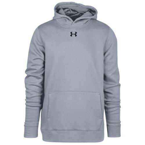 【海外限定】under armour アンダーアーマー team チーム hustle fleece フリース hoodie フーディー パーカー gs(gradeschool) ジュニア キッズ