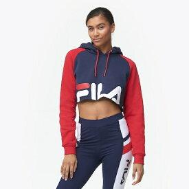 フィラ FILA フーディー パーカー WOMENS レディース LUCIANA HOODIE レディースファッション トップス 送料無料