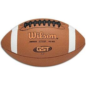 ウィルソン フットボール gs(gradeschool) ジュニア キッズ wilson gst k2 peewee composite football gsgradeschool