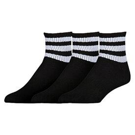 アディダス アディダスオリジナルス ADIDAS ORIGINALS オリジナルス ソックス 靴下 WOMENS レディース 3PACK 3STRIPE QUARTER SOCKS インナー 下 レッグ 下着 ナイトウエア 送料無料