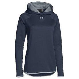 【海外限定】アンダーアーマー チーム フリース フーディー パーカー women's レディース under armour team double threat fleece hoodie womens