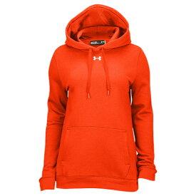 【海外限定】under armour アンダーアーマー team チーム hustle fleece フリース hoodie フーディー パーカー women's レディース