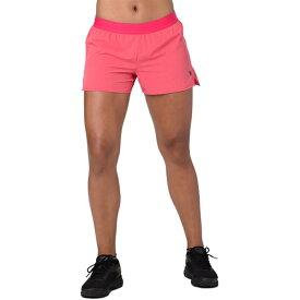 【スーパーセール商品 12/4-12/11】【海外限定】アシックス asics 3.5 woven ウーブン shorts ショーツ ハーフパンツ women's レディース マラソン レディースウェア
