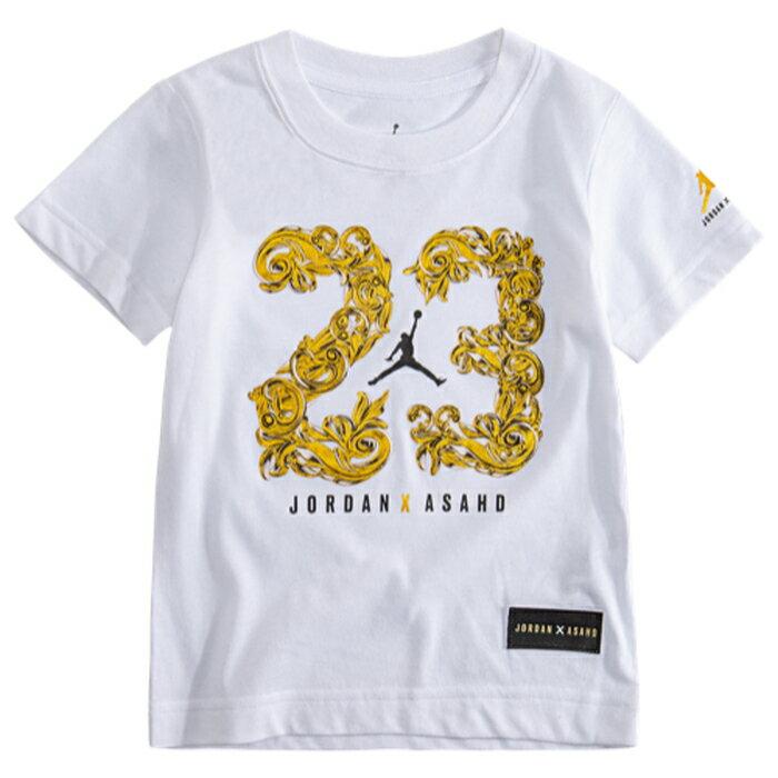 【海外限定】ジョーダン シャツ gs(gradeschool) ジュニア キッズ jordan x asahd 23 royalty t gsgradeschool