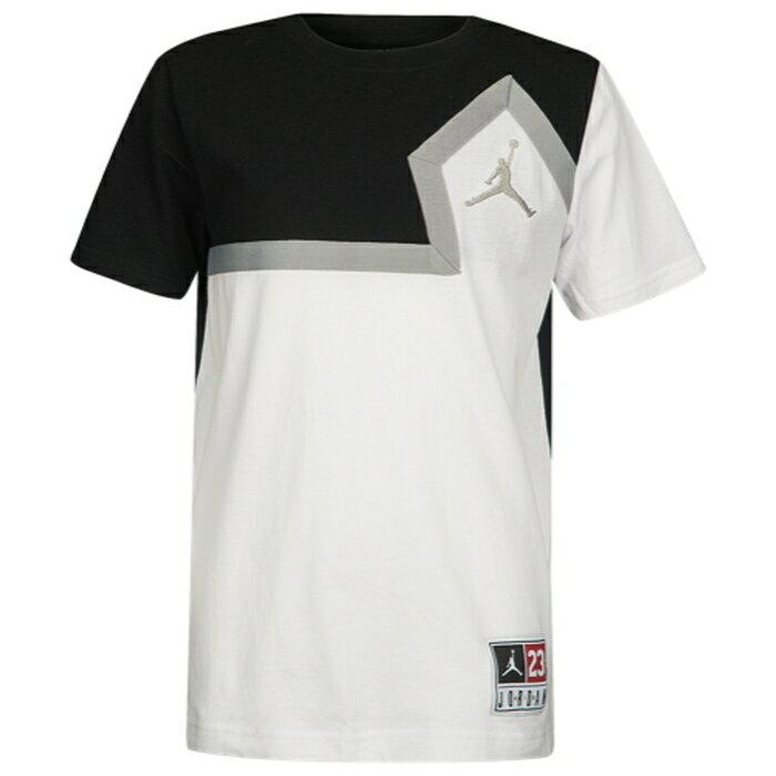 【海外限定】ダイヤモンド diamond jordan ジョーダン jumpman ジャンプマン cut and sew tシャツ gs(gradeschool) ジュニア キッズ メンズファッション