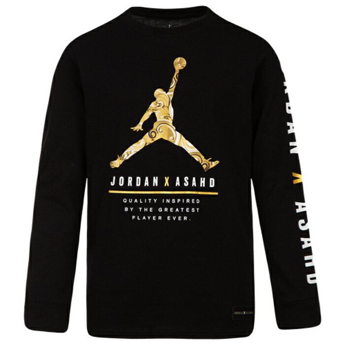 【海外限定】jordan x asahd royal defense long sleeve t gsgradeschool ジョーダン スリーブ シャツ gs(gradeschool) ジュニア キッズ