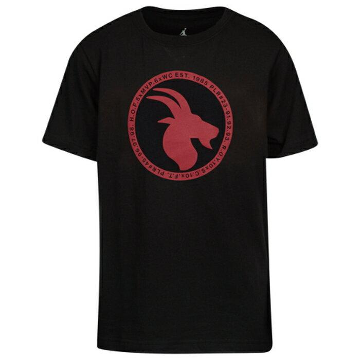 【海外限定】ジョーダン ロゴ シャツ gs(gradeschool) ジュニア キッズ jordan jsw greatest logo t gsgradeschool