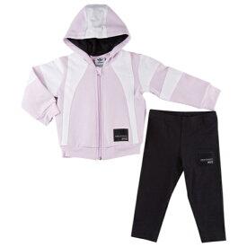 【海外限定】アディダス アディダスオリジナルス adidas originals オリジナルス フーディー パーカー equipment hoodie set girls infant ファッション