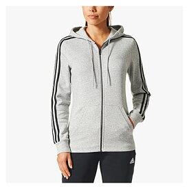 【海外限定】アディダス アディダスアスレチックス adidas athletics フーディー パーカー women's レディース 3stripes cotton fullzip hoodie womens