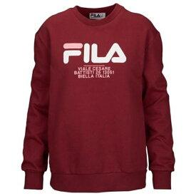フィラ FILA WOMENS レディース AGNESE SWEATSHIRT パーカー トップス レディースファッション 送料無料