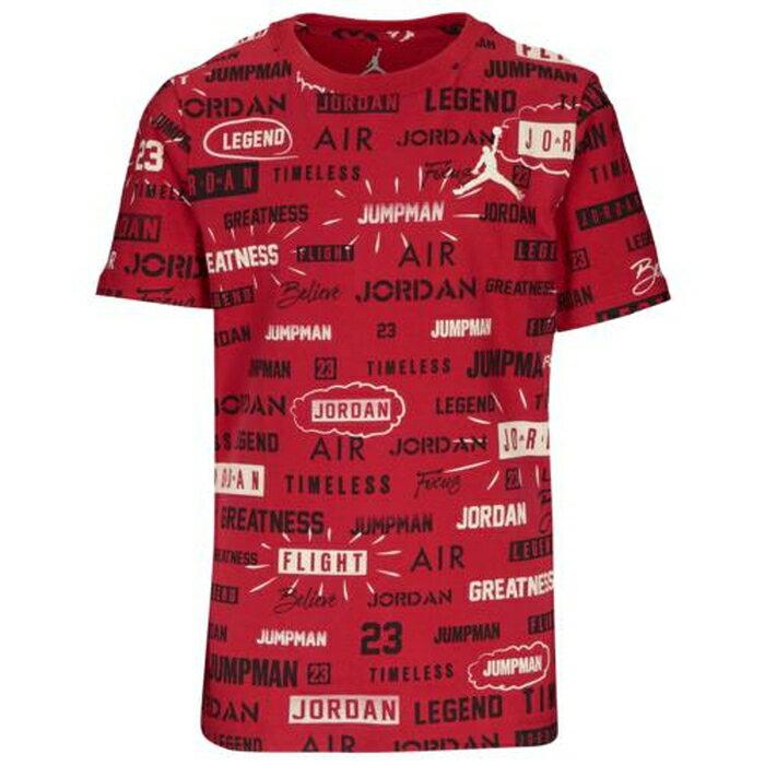 【海外限定】jordan ジョーダン full court カウント aop tシャツ ps(preschool) キッズ 小学生 男の子 女の子 子供用