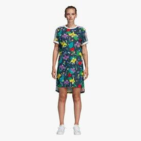 【海外限定】アディダス アディダスオリジナルス adidas originals オリジナルス シャツ ドレス レディース blossom of life tee t dress