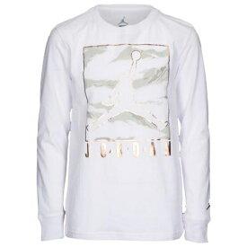 【海外限定】jordan ジョーダン boxed camo long sleeve スリーブ tシャツ gs(gradeschool) ジュニア キッズ
