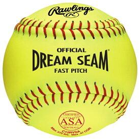 【海外限定】ローリングス ドリーム women's レディース rawlings dream seam asa fastpitch softballs womens
