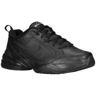 NikeNikeナイキAirairエアーMonarchモナークIV-Mensメンズblack黒・ブラック/black黒・ブラック