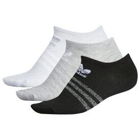 アディダス アディダスオリジナルス ADIDAS ORIGINALS オリジナルス ソックス 靴下 WOMENS レディース SHEEN 3PACK NO SHOW SOCKS 下 レッグ ナイトウエア インナー 下着 送料無料