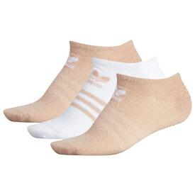アディダス アディダスオリジナルス ADIDAS ORIGINALS オリジナルス ソックス 靴下 WOMENS レディース SHEEN 3PACK NO SHOW SOCKS 下着 ナイトウエア インナー 下 レッグ 送料無料