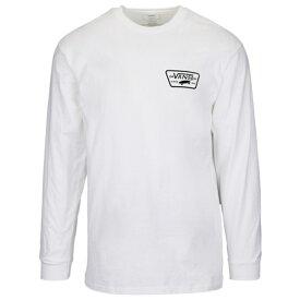バンズ VANS L S 長袖 ロングスリーブ シャツ MENS メンズ FULL PATCH LS T Tシャツ トップス カットソー ファッション 送料無料