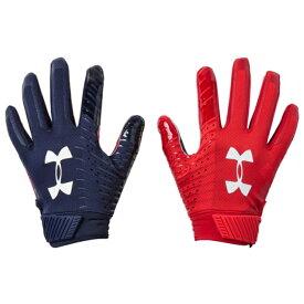 アンダーアーマー UNDER ARMOUR レシーバー グローブ グラブ 手袋 MENS メンズ SPOTLIGHT LE NFL RECEIVER GLOVE アウトドア スポーツ アメリカンフットボール 送料無料