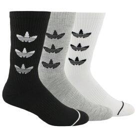 アディダス アディダスオリジナルス ADIDAS ORIGINALS オリジナルス トレフォイル ソックス 靴下 MENS メンズ TREFOIL REPEAT 3 PACK CREW SOCKS 下 レッグ 下着 ナイトウエア インナー 送料無料