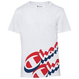 チャンピオン CHAMPION スクリプト ロゴ ラップ シャツ GS(GRDESCHOOL) ジュニア キッズ SCRIPT LOGO WRAP A ROUND T GSGRADESCHOOL Tシャツ マタニティ トップス カットソー 送料無料