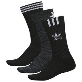 アディダス アディダスオリジナルス ADIDAS ORIGINALS オリジナルス グラフィック ロゴ ソックス 靴下 MENS メンズ GRAPHIC LOGO II 3PACK CREW SOCKS 下 インナー ナイトウエア レッグ 下着 送料無料
