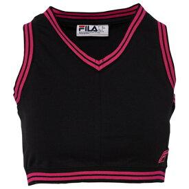フィラ FILA クロップ WOMENS レディース NINA V CROP カットソー トップス レディースファッション Tシャツ 送料無料