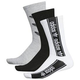アディダス アディダスオリジナルス ADIDAS ORIGINALS オリジナルス ソックス 靴下 MENS メンズ TRIPLE BRANDED 3PACK CREW SOCKS ナイトウエア 下 下着 レッグ インナー 送料無料