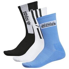 アディダス アディダスオリジナルス ADIDAS ORIGINALS オリジナルス フォーラム ソックス 靴下 MENS メンズ STACKED FORUM 3PACK CREW SOCKS 下 レッグ インナー 下着 ナイトウエア 送料無料