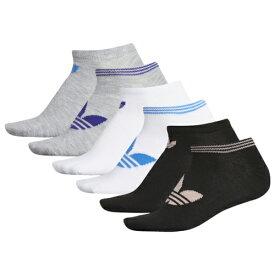 アディダス アディダスオリジナルス ADIDAS ORIGINALS オリジナルス ソックス 靴下 WOMENS レディース 6 PACK ORIGINAL NO SHOW SOCKS 下着 インナー ナイトウエア レッグ 下 送料無料