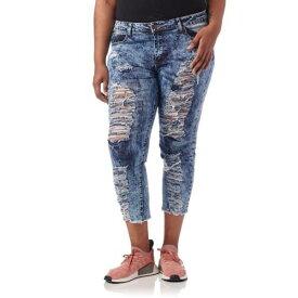 ESSENTIALS 【 ESSENTIALS PLUS DESTROYED ACID WASH JEANS DARK 】 レディースファッション オーダーメイド ズボン パンツ