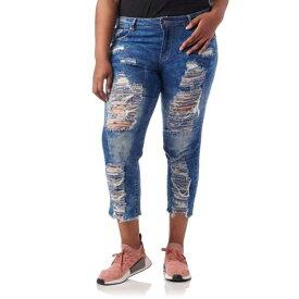 ESSENTIALS 【 ESSENTIALS PLUS DESTROYED ACID WASHED JEAN MEDIUM WASH 】 レディースファッション オーダーメイド ズボン パンツ