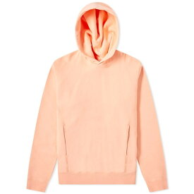 NONNATIVE 【 DWELLER OVER DYED POPOVER HOODY PINK 】 メンズファッション トップス パーカー 送料無料