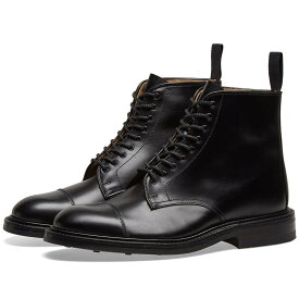 TRICKERS キャップ 帽子 END. TRICKER'S 【 X TOE CAP BOOT BLACK CALF LEATHER 】 メンズ ブーツ 送料無料
