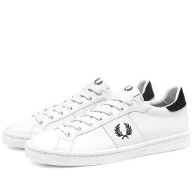 FRED PERRY AUTHENTIC オーセンティック レザー スニーカー 【 LAWN LEATHER SNEAKER WHITE 】 メンズ 送料無料