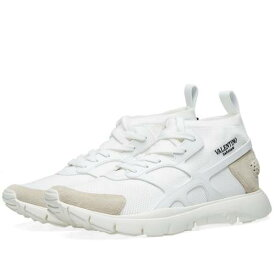 VALENTINO スニーカー メンズ 【 Sound Knitted Runner Sneaker 】 White